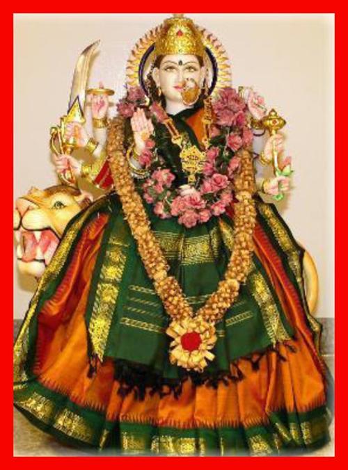 durga. Durga Maa at HTCC