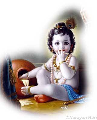 god images krishna. Lord Krishna child butter