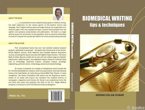 My Book Biomedical Writing Sulekha Creative