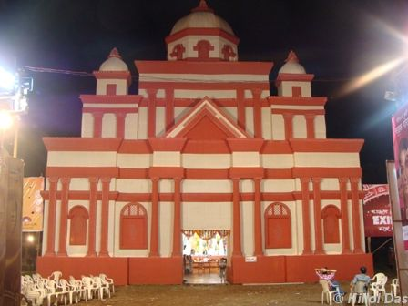 Glimpses of durga puja at vashi navi mumbai sulekha creative another mandap thecheapjerseys Images