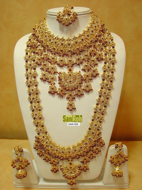 BRIDAL SET 555 By Renu Sharma In SANROHCREATIONJEWELLERYCOLLECTION