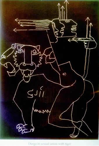 Serie: Los Pintores - 39 - Maqbool Fida Husain